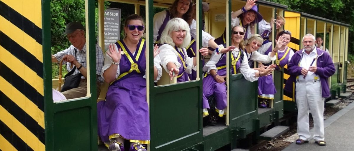 Fleur de Lys Ladies' Morris Dancers from Godalming
